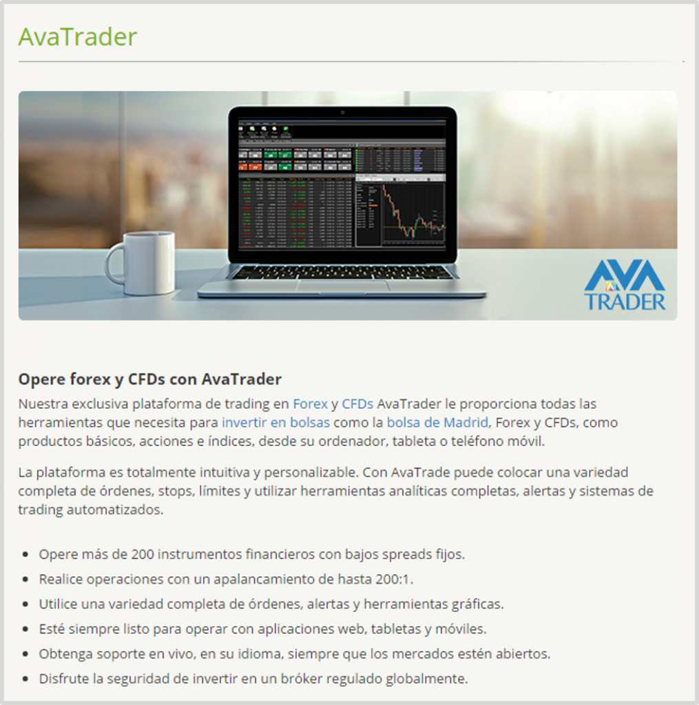 AvaTrade_software
