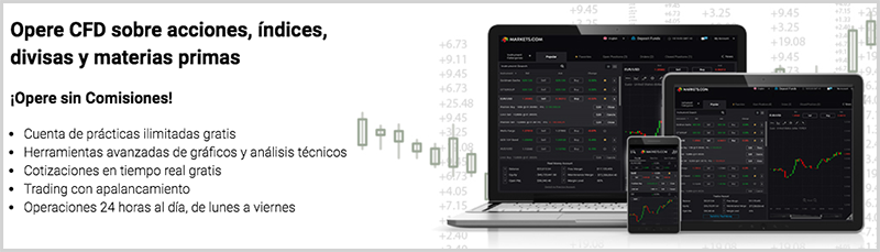 operaciones disponibles en markets