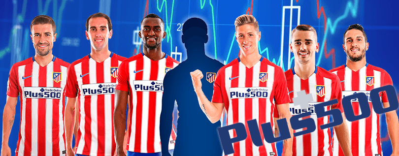 plus500 y el club atlético de madrid