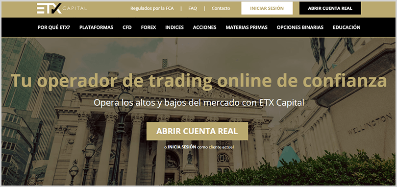 regulación del broker etxcapital.com