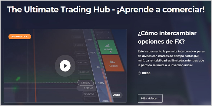 formación para traders con video tutoriales