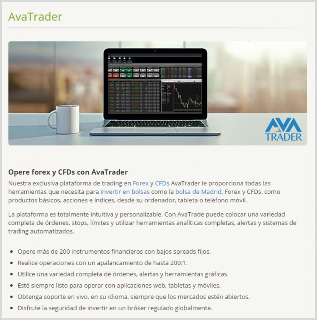 AvaTrade_software