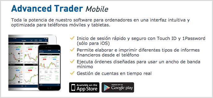 app advanced trader mobile