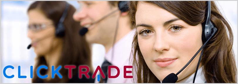 servicio de soporte técnico en clicktrade