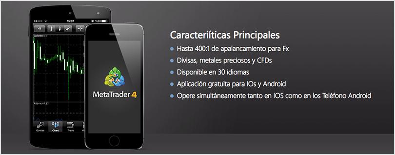 app metatrader4 para móvil