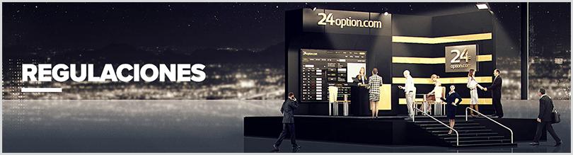 24Option es un broker regulado por CySEC