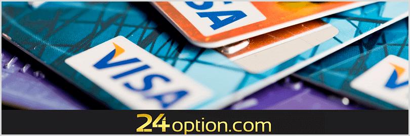 métodos para realizar pagos y cobros en 24option
